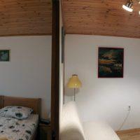 Apartma Leban - Dnevna ter glavna spalnica
